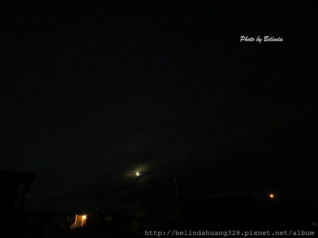 北極圈的朦月
