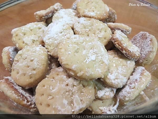酥脆芝麻小餅乾1