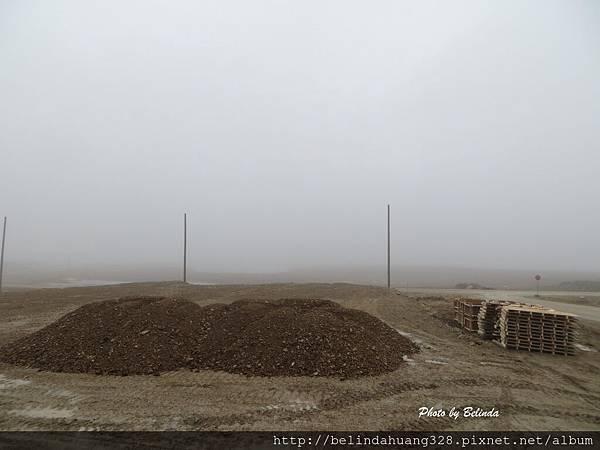 北極圈迷霧的早晨1