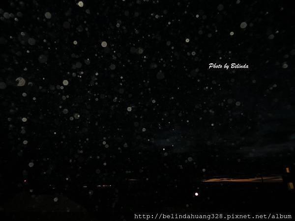 北極圈十月2日夜色