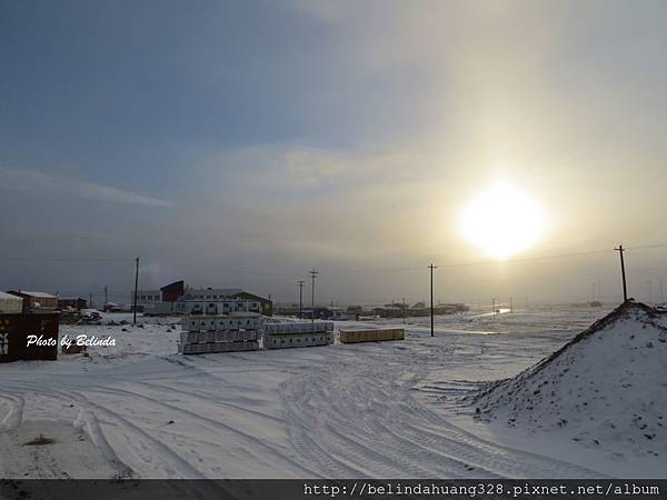 北極圈地帶十月七日風光