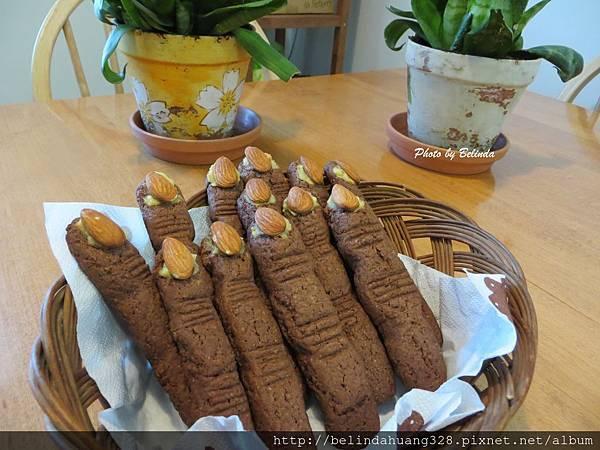 殭屍手指餅乾1