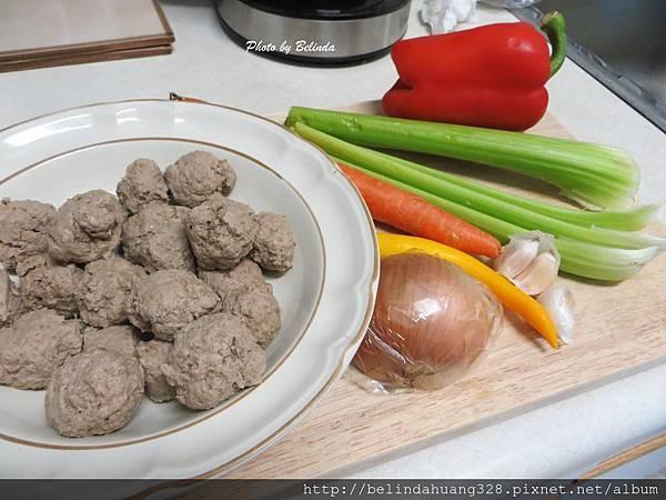 自製白醬牛肉丸義大利麵材料