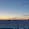 北極圈午後三點的霞光20131113