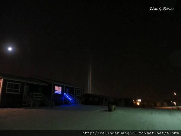 北極圈地帶夜晚六點20131114