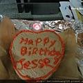 20131126傑西生日快樂蛋糕
