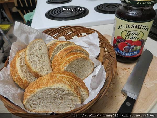 免揉的健康無油配方麵包3