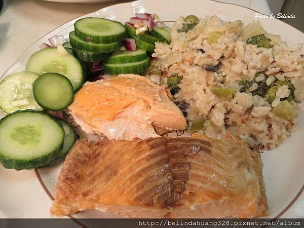 烤箱版烤北極鮭魚Baked Arctic Char 1