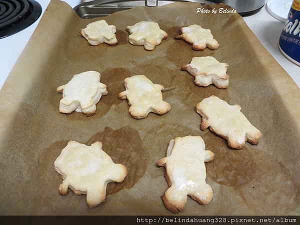 熊造型糖霜餅乾Cutout Sugar Cookies2