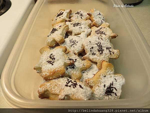 熊造型糖霜餅乾Cutout Sugar Cookies4