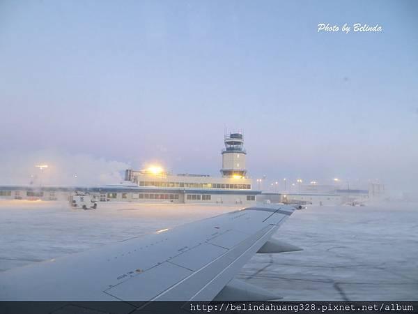 20131220回加拿大南方機上途中