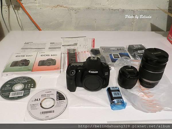 Canon EOS 60D 中階數位單眼相機