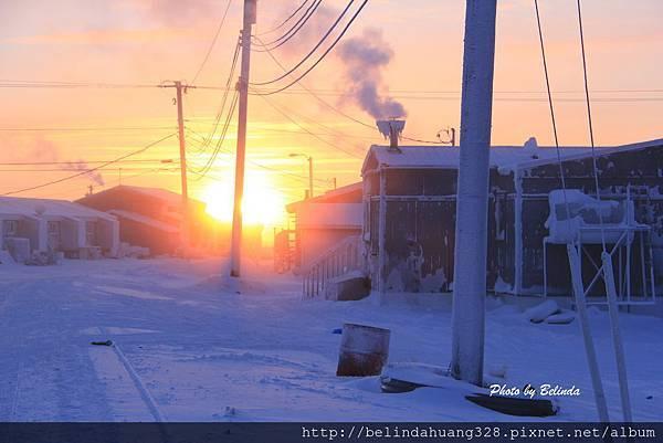 北極圈地帶陽光再現20140117a