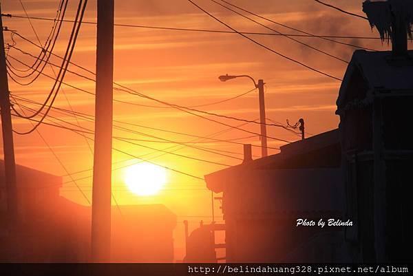 北極圈地帶陽光再現20140117b