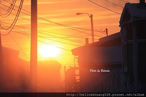 北極圈地帶陽光再現20140117c