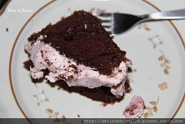 質樸的情人節巧克力蛋糕1