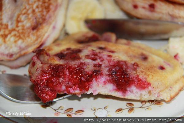 20140416覆盆莓煎餅Raspberry Pancakes~2