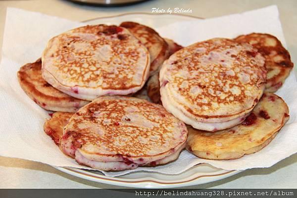 20140416覆盆莓煎餅Raspberry Pancakes~4