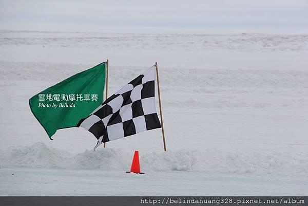 雪地機車賽Snowmobile racing~1