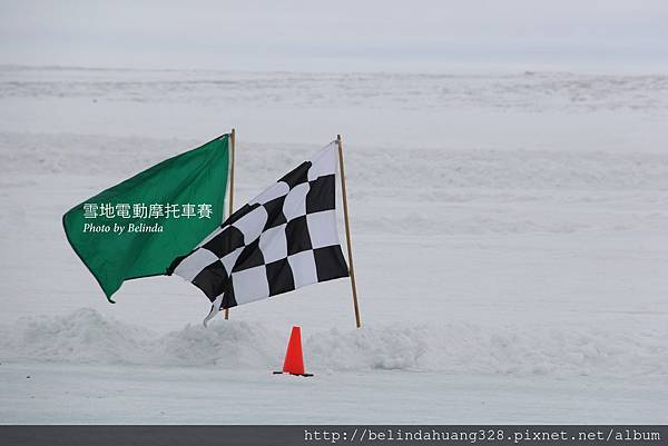 雪地機車賽Snowmobile racing~1