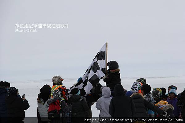 雪地機車賽Snowmobile racing孩童組~1