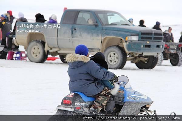 雪地機車賽Snowmobile racing~3