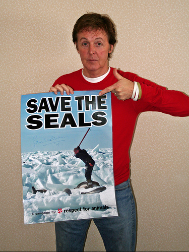 Paul McCartney To Save the Seals.jpg