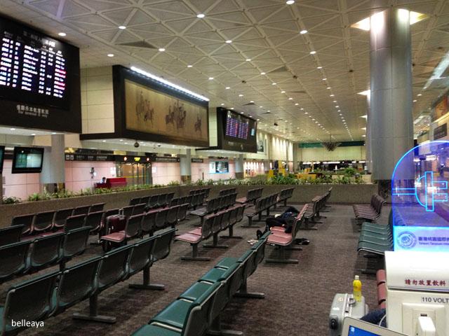 [2013峇里島] 桃園機場過夜