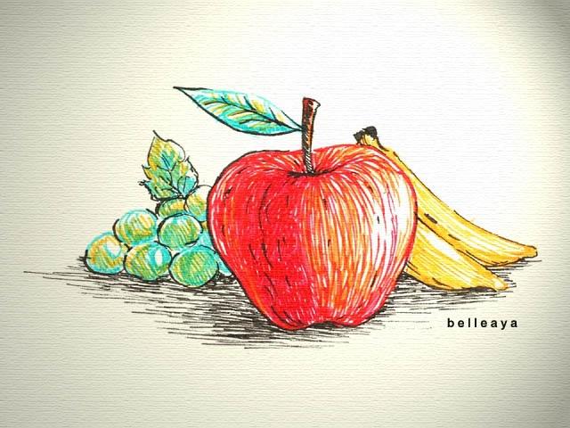 水果 (原子筆)