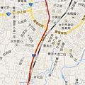 2014.2.14 騎車北上 地圖2