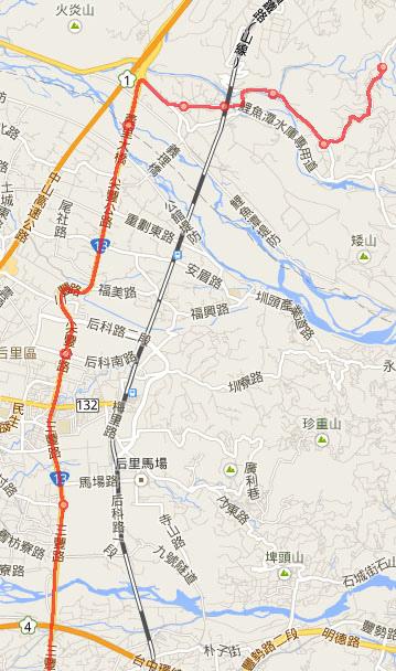 2014.2.14 騎車北上 地圖3