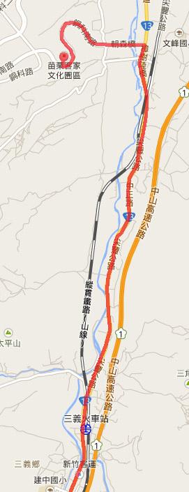 2014.2.14 騎車北上 地圖5