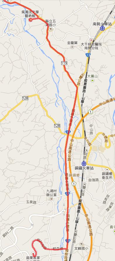 2014.2.14 騎車北上 地圖6