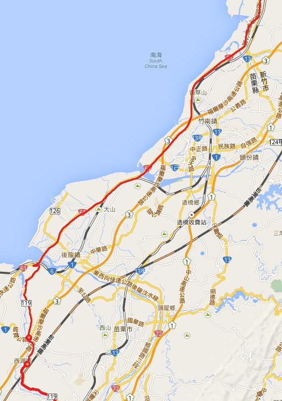 2014.2.14 騎車北上 地圖7