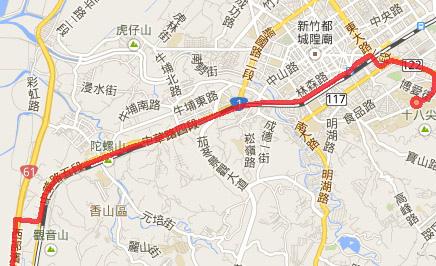 2014.2.14 騎車北上 地圖8