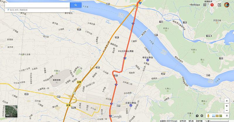 2015.1.17 新竹騎台1、台13往台中