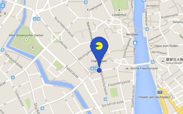 2015 Google Map 愚人節