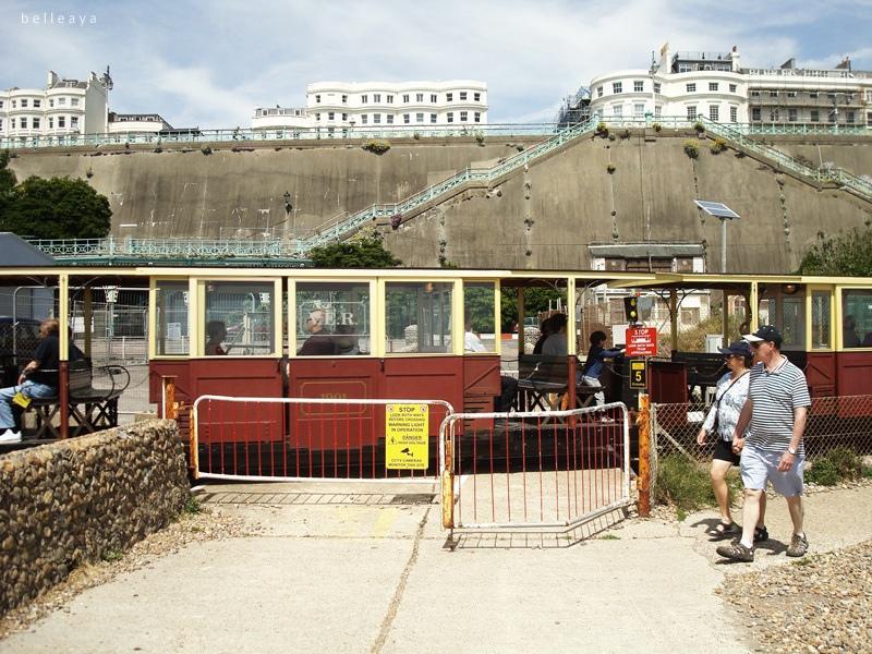 [英國] 布萊頓:前往Marina - Volk's Electric Railway