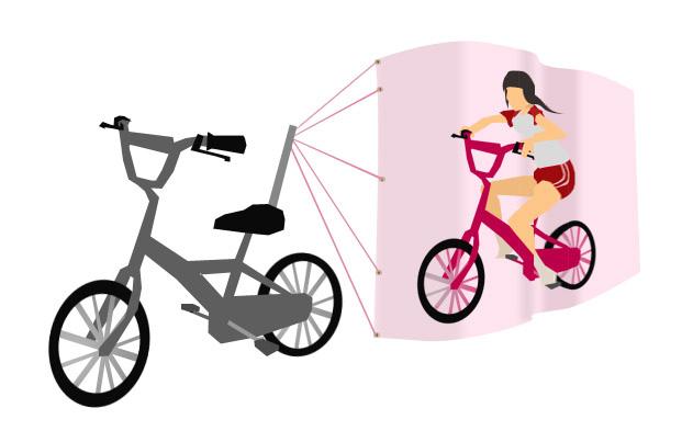 腳踏車要插什麼旗子