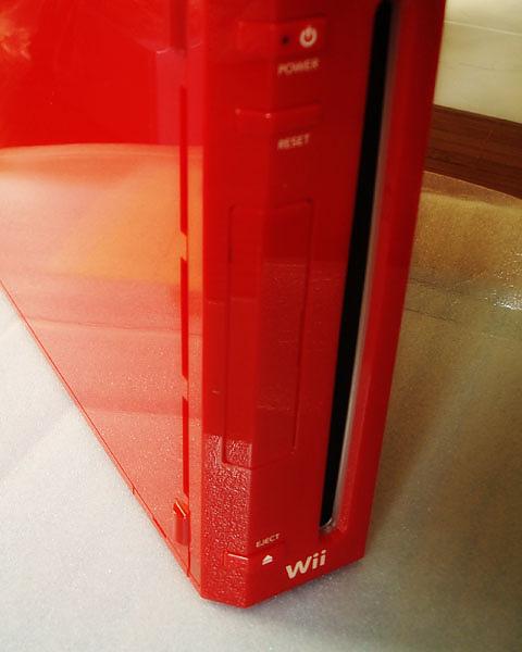 馬利歐25週年紀念紅色Wii