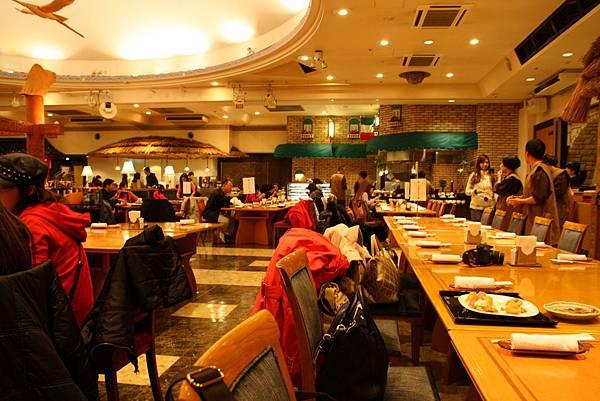 晚餐的餐廳