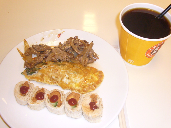 隔天又吃到好好吃早餐