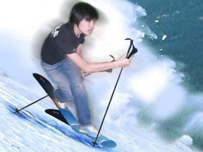 滑雪的指(強!