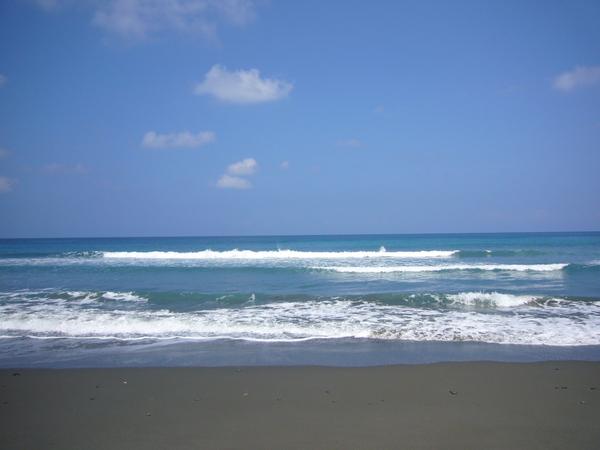 美麗的台東大海