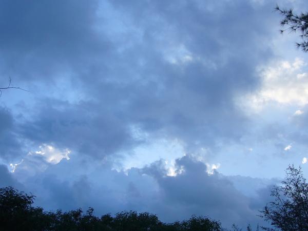 台東美麗的天空