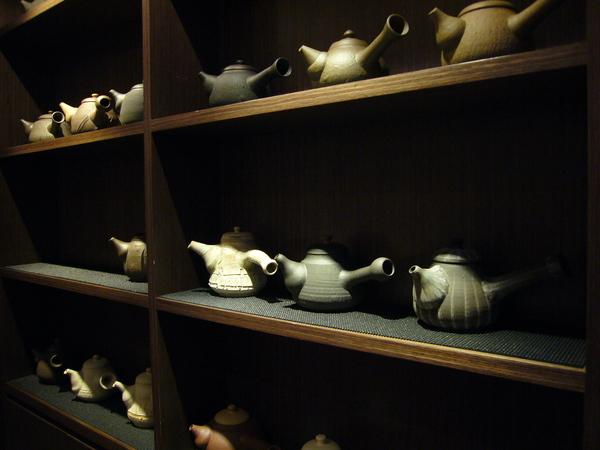 師父手製的陶壺