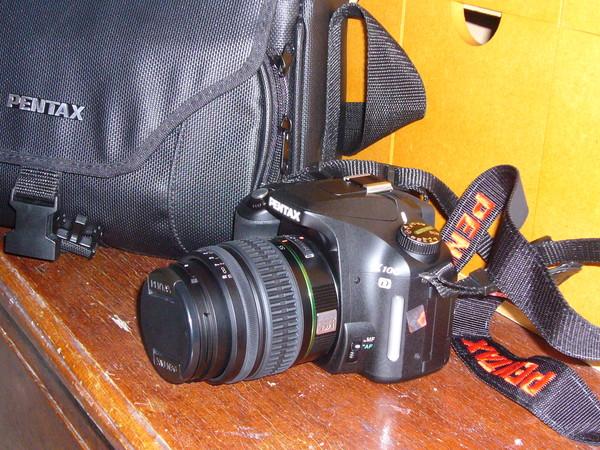 新禮物--單眼數位相機