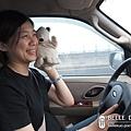 出發^0^ 謝謝三姐借車