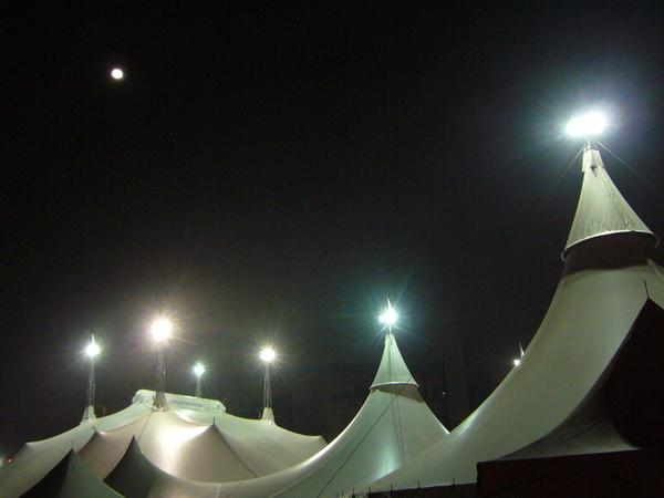 大帳蓬與月亮,太陽劇團再見啦