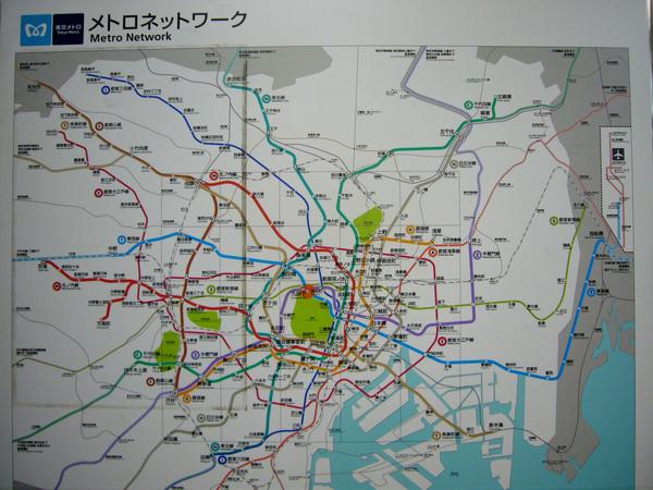 東京地鐵找路中